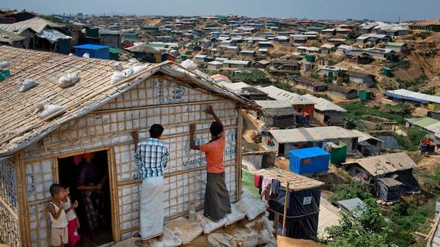 Quelque 711 000 Rohingyas ont trouvé refuge au Bangladesh en huit mois, après avoir fui la persécution dans l'État de Rakhine, au Myanmar.