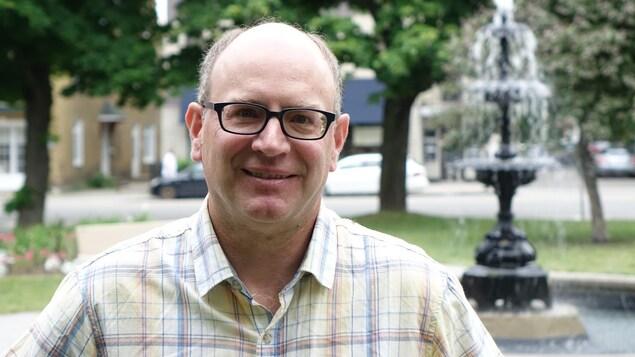 Rémi Fiola, directeur du servie génie et environnement à la Ville de Rimouski