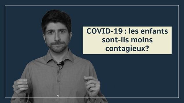 COVID-19 : les enfants sont-ils moins contagieux?