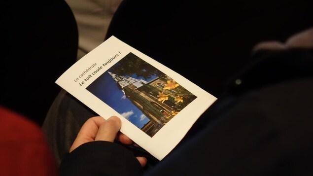 Un OSBL a été créé pour financer la réparation du toit de la Cathédrale de Rimouski