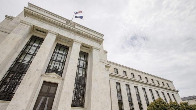 La Réserve fédérale américaine à Washington.