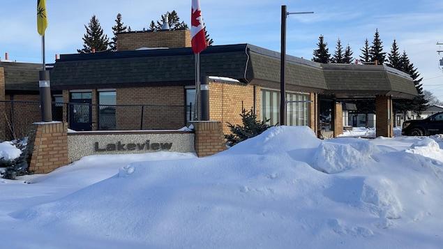 La résidence pour aînés Lakeview Pioneer Lodge, à Wakaw, en Saskatchewan.