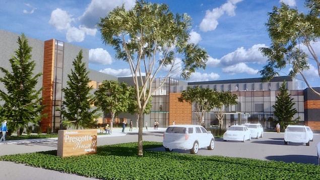 Une illustration 3D de la future résidence des CUPR