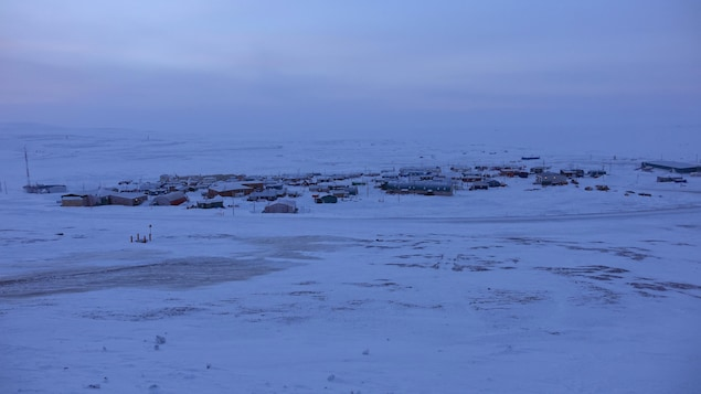 Vue d'ensemble sur Resolute Bay.