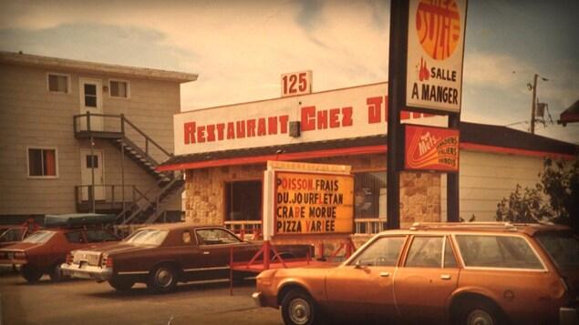 Une photo souvenir du restaurant Chez Julie à Havre-Saint-Pierre