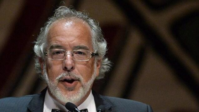 Rhéal Fortin, député de Rivière-du-Nord et chef intérimaire du Bloc québécois
