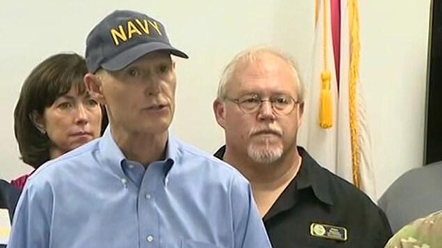 Le gouverneur de la Floride, Rick Scott