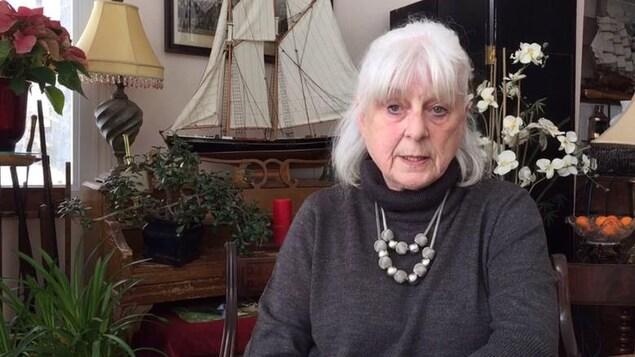 Sandra Peining, résidente de Rigaud, estime que la hausse des taxes municipales prévue est trop élevée.