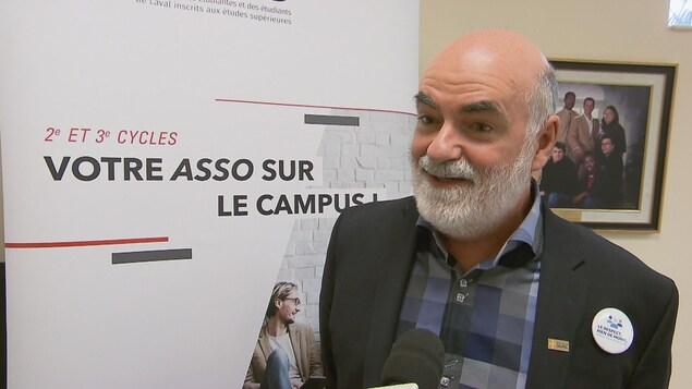 Robert Beauregard, vice-recteur aux études et aux affaires étudiantes de l'Université Laval