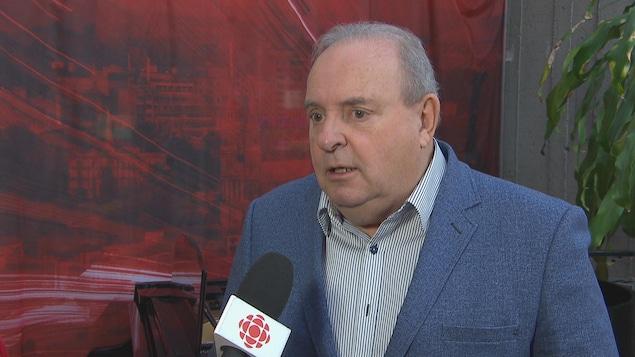 Robert Doré en entrevue avec Radio-Canada