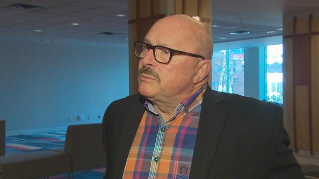 Robert Haché, directeur général de l'Association des crabiers acadiens.