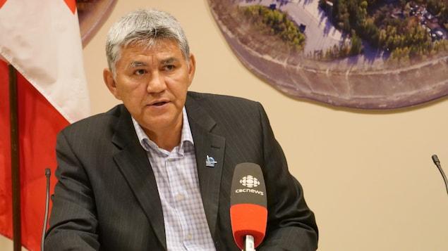 Robert McLeod est le ministre des Finances des Territoires du Nord-Ouest.