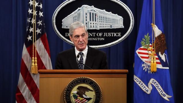 Robert Muller lors d'une conférence de presse le 29 mai 2019.