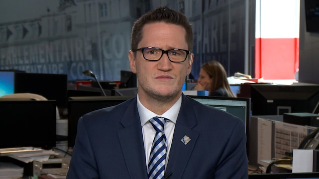 Entrevue Colline parlementaire Québec