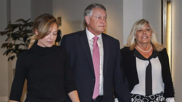 Robin Camp et sa famille