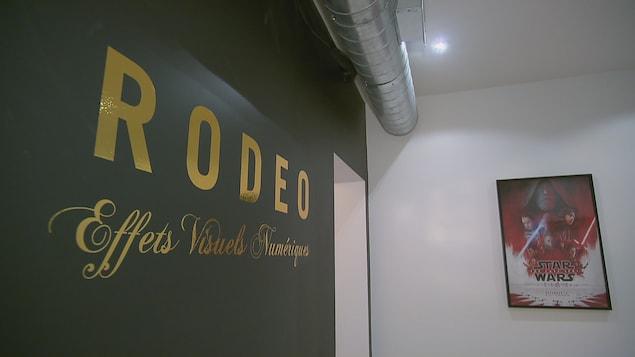 Les studios de Rodeo FX à Québec
