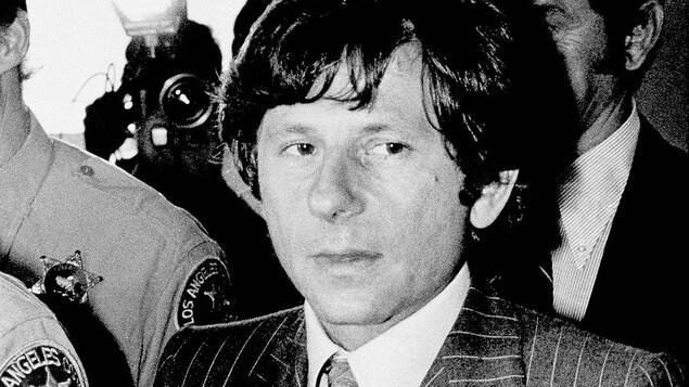 Roman Polanski en cour à Santa Monica en 1977