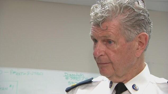 Ron Taverner, du Service de police de Toronto
