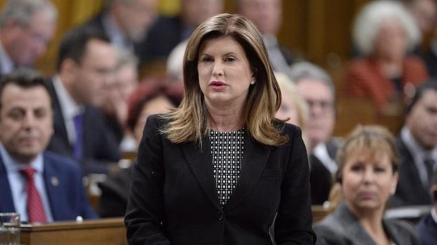 Rona Ambrose à la Chambre des communes