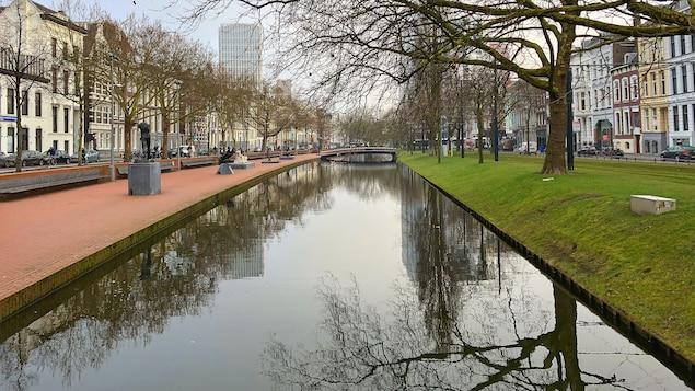 Le parc Westersingel, conçu pour retenir l'eau de pluie dans un quartier central de Rotterdam.
