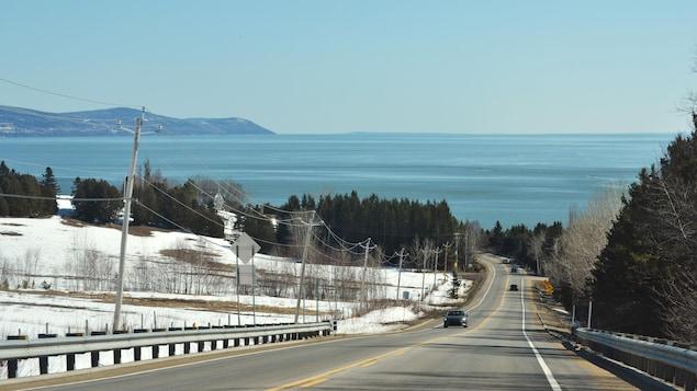 La route 362 dans Charlevoix