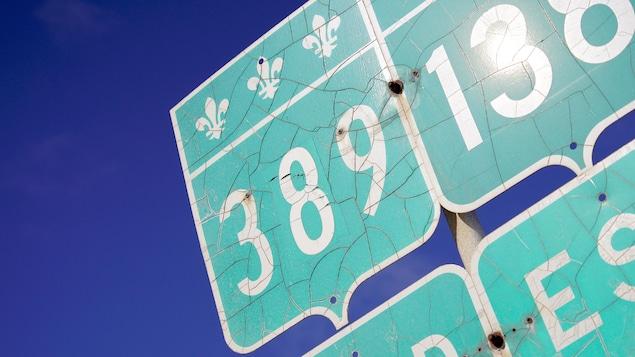 La route 389