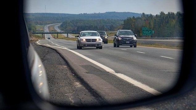 L'autoroute Transcanadienne entre Moncton et Halifax