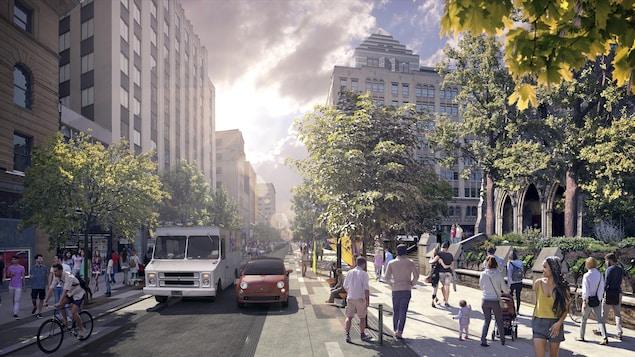 La nouvelle rue Sainte-Catherine