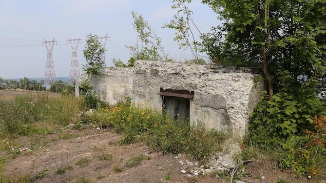 Les ruine de la casemate