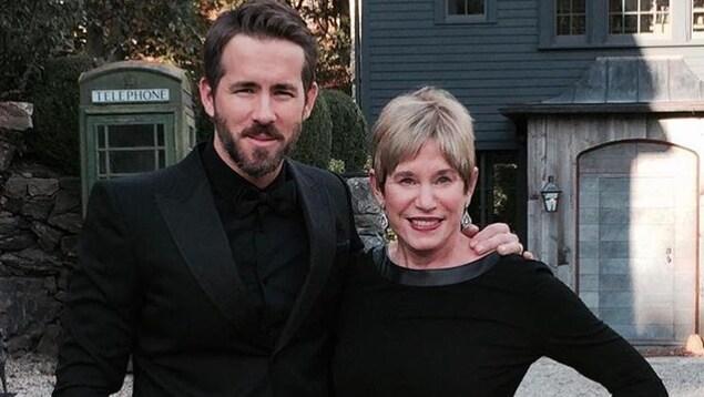 Ryan Reynolds et sa maman.