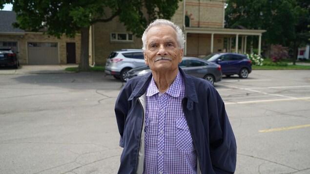 Roland Ilhe, 82 ans, a perdu sa femme plus tôt cette année.