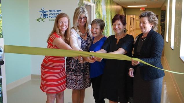 L'inauguration de l'unité de services de sages-femmes de l'Hôpital Markham-Stouffville a eu lieu le mardi 26 juin.