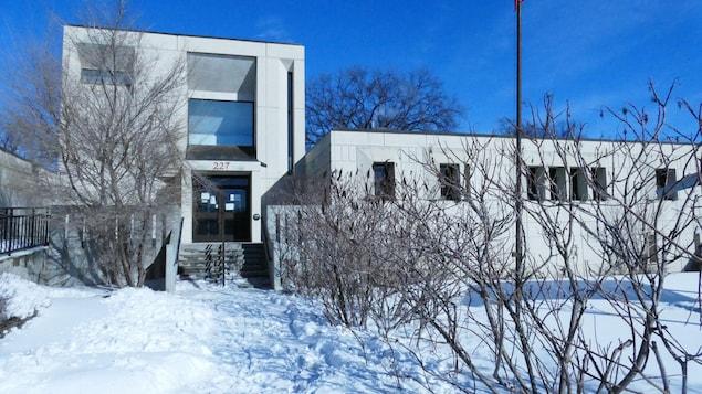 L'ancien poste de police de Winnipeg.
