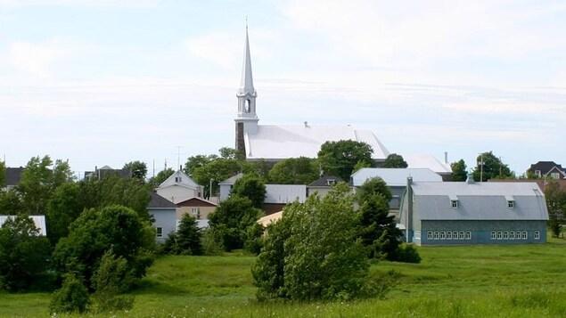 Vue sur le village de Saint-Paul-de-la-Croix