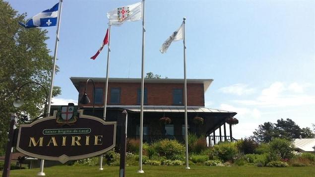 Hôtel de ville de Sainte-Brigitte-de-Laval.