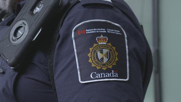 شعار وكالة الخدمات الحدوديّة  الكنديّة.