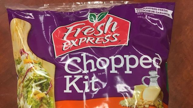 Emballage de salade Fresh Express.