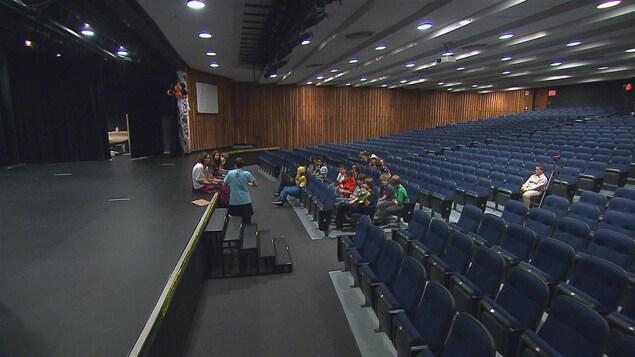 L'auditorium de la polyvalente de Matane ne répond plus aux besoins affirme la ville. Le même constat est fait pour la salle du Cégep.