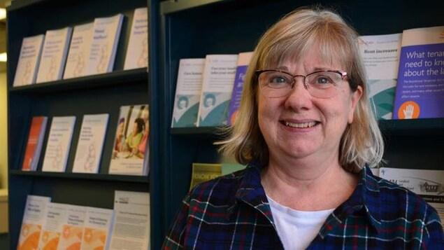 Sally Colquhoun est la coordonnatrice des services de la clinique juridique Kinna-aweya de Thunder Bay.
