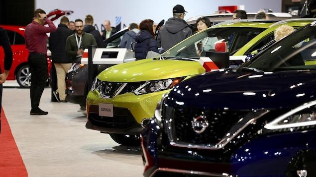 Des milliers de visiteurs vont chaque année au Salon de l'auto de Québec.