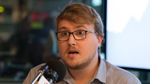 Samuel Rouette-Fiset, président de la CADEUL