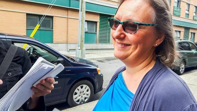 Sandrine Viel, directrice des Habitations du Centre multiethnique de Québec