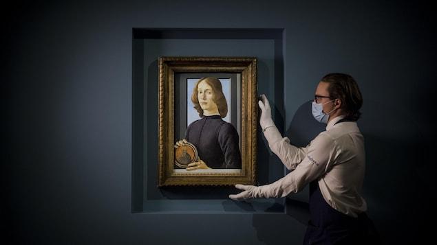 Un portrait signé Botticelli vendu 92,2 millions de dollars