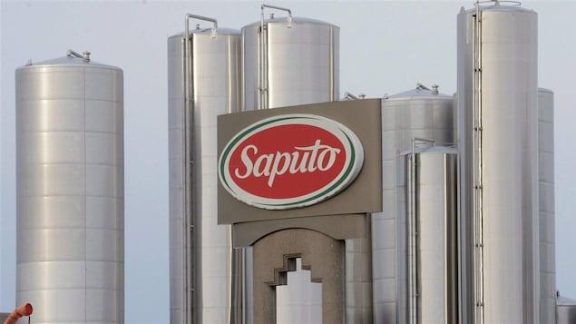 L'usine Saputo à Montréal.