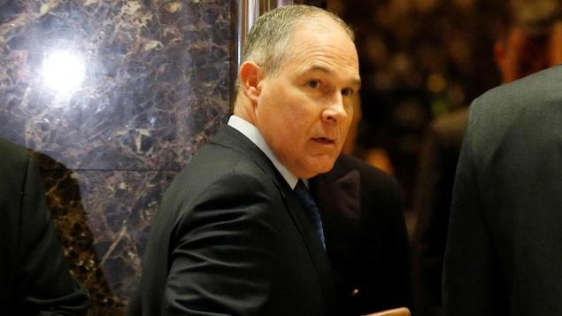 Scott Pruitt, futur chef de l'Agence de protection de  l'environnement américaine