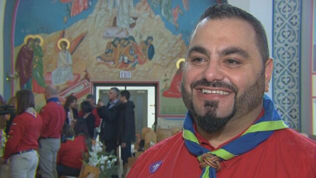 Joseph El Hajj, fondateur de Scouts Saints-Pierre-et-Paul