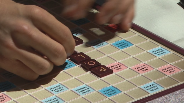 Table de Scrabble