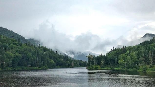 Le Parc national de la Jacques-Cartier, dans la région de Québec.