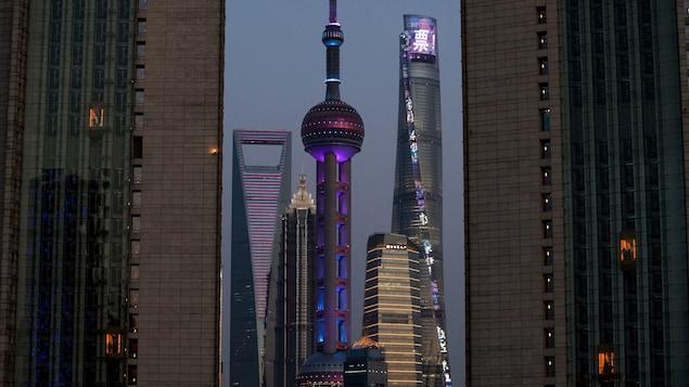 Des immeubles à Shanghai.