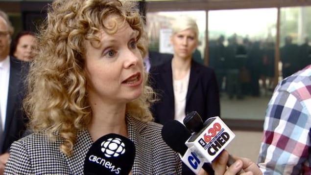 Shannon Prithipaul , avocate criminaliste d'Edmonton